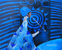 Ethno concert in blue by Maya Manolova