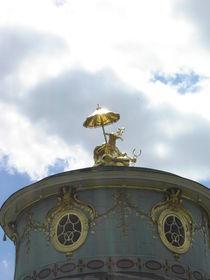 Chinesisches Teehaus im Park Sanssouci by Baerbel Nitychoruk