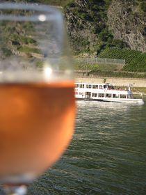 Weinfest am Rhein von Baerbel Nitychoruk