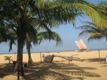 Strandidylle auf Sri Lanka  von Baerbel Nitychoruk