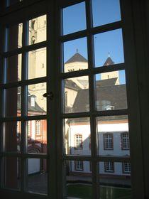 Blick auf die Abtei Brauweiler von Baerbel Nitychoruk