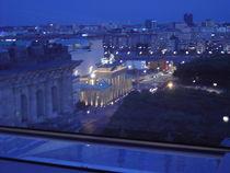 Blick vom Reichstag in Berlin von Baerbel Nitychoruk