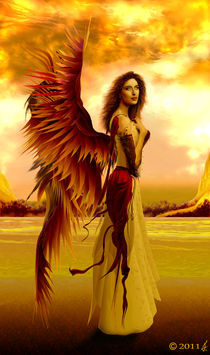Angel of serenity von richard turgeon
