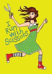 I Run With Scissors von Danni Smurthwaite