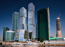 Moskva City by Andrey Lavrov