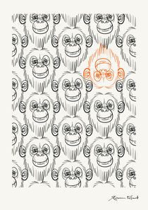 Monkeying around! by Rebecca Elfast
