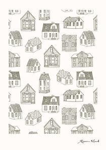 Quirky houses von Rebecca Elfast