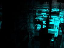 Blue Cell von Staton Allen
