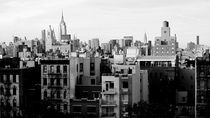 NYC black and white von Darren Martin