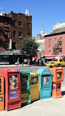 New York City Street Scene by Darren Martin