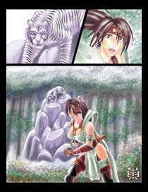 Taki and the Tiger by katrileo