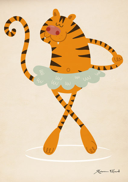 Tiger-ballet