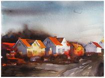 Sunkissed street von Rebecca Elfast