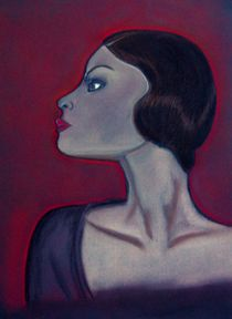 Stolz, Frau im Profil von Anke Franikowski