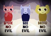 three wise kitty von Nimas Arum
