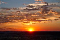 Sunset at Schwalm-Eder-Kreis von Waldemar Moll
