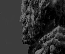 Mann im Fels von Peter Norden