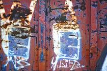 GRAFFITI TEXTURE 2 von J Nathaniel Dicke