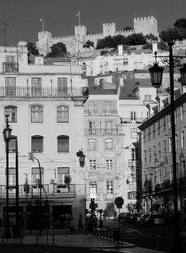 Baixa, Lissabon von Eva-Maria Steger
