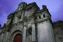 Colonial Church Ruins Antigua Guatemala by Charles Harker