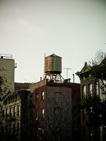 New York city water tower von Darren Martin