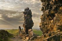 An der Teufelsmauer by Norbert Maier