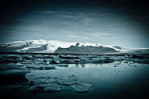 Blue Iceland by Camille garcia