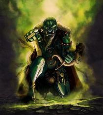Goblin Shaman by Artyom Kim