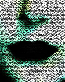 Mouth mosaic von Vitriol Design