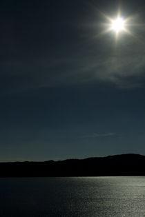 Salt Water Lake Mexico  von Carmen Davila