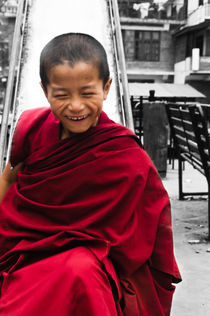 Buddhist Monk von Ravi Dhingra