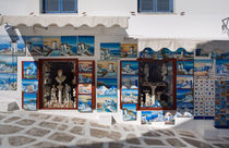 Mykonos Paintings von Colin Miller