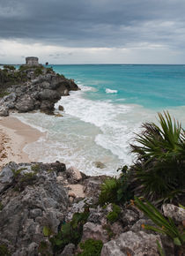 Beach - Tulum, Mexico by Colin Miller
