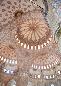 Blue Mosque Interior by Colin Miller