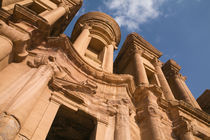The Monastery - Petra, Jordan by Colin Miller