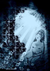 träumende Frau von Kerstin Schuster