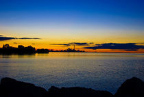 Toronto sunrise by Andrew Hartl