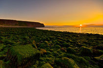 Sunset on Helgoland by Michael Fischer