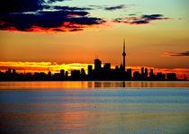 Sunrise in Toronto von Andrew Hartl