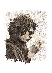 Bob Dylan by Jonathan Muddell
