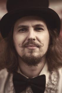 Bowtie and mustache by Tomas Kibsgaard Larsen