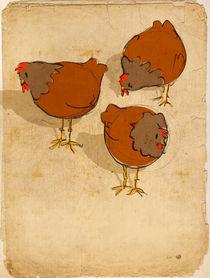Three French Hens von Imogen  Henlich