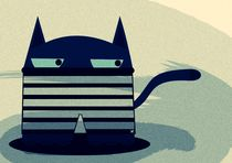 prisoner cat by Nimas Arum
