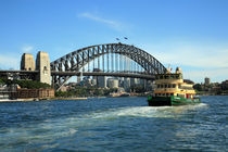 Sydney Harbour Bridge by michal gabriel