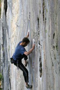 climbing a smooth wall by Danislav Mironov