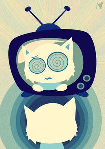 television effect by Nimas Arum