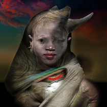 Rhino Goddess - Guardian Series by Mark Wagner