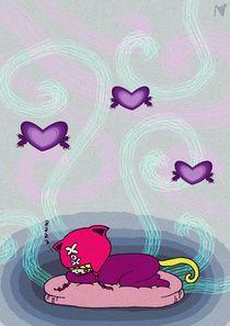 sleeping xoxo von Nimas Arum
