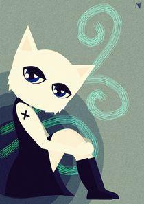 emo cat by Nimas Arum