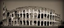 Coliseum sepia by Maximiliano Galain